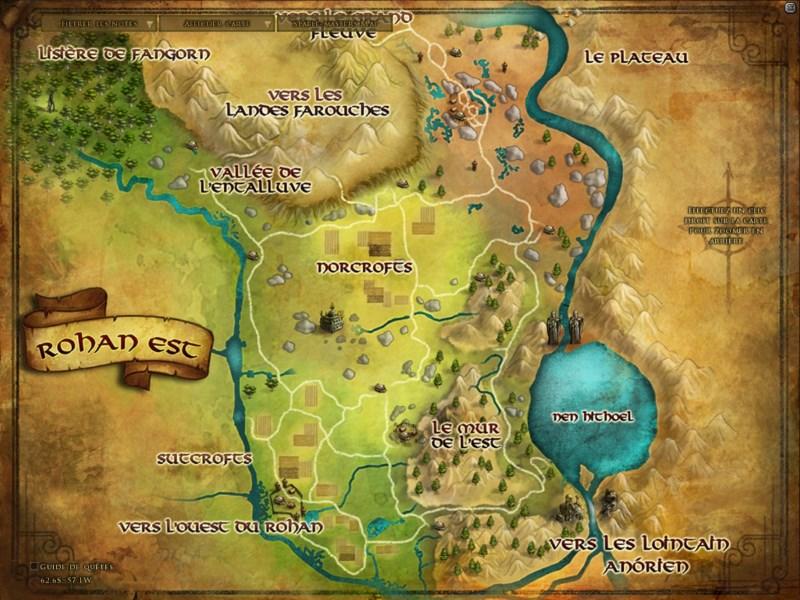 Carte du Rohan ROH