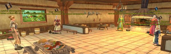 La guilde des Cuisiniers, à Grand-cave