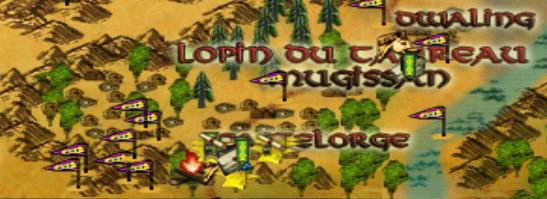 Le sud d'Evendim est peuplé de Hobbits