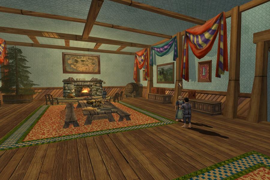La Maison des Mathoms et sa décoration typique