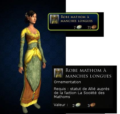 La robe à la mode Hobbite