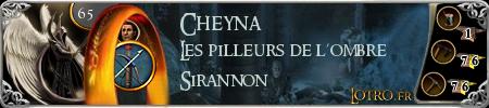 * Cheyna Fan d'Artisanat * 14069-cheyna
